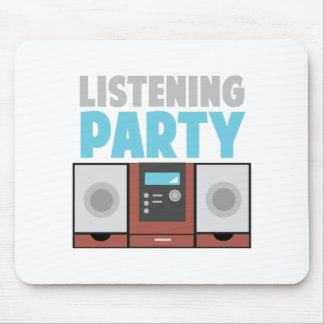Listening Party Mouse Pad