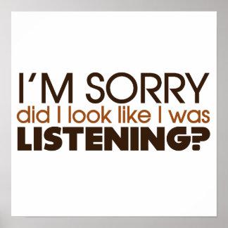 Listening Print