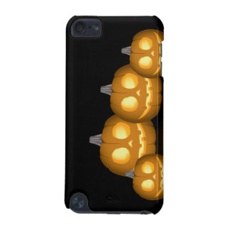Lit Jack-O-Lantern iTouch Case iPod Touch 5G Cover