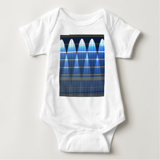 Lit up Blue Building Block 2 Baby Bodysuit