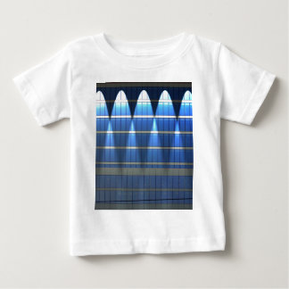 Lit up Blue Building Block 2 Baby T-Shirt