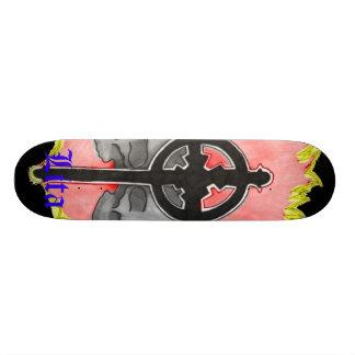 Lita Design (Skulls&Cross) 20 Cm Skateboard Deck