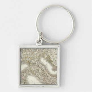 L'Italie - Italy Map Key Ring