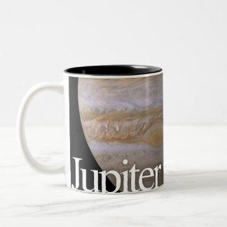 LITD Planet Mug: Jupiter Two-Tone Coffee Mug