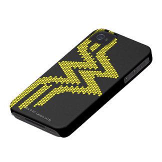 Lite-Brite WW Symbol iPhone 4 Case-Mate Case