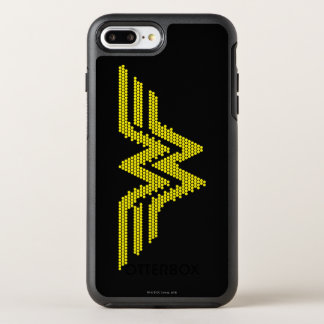 Lite-Brite WW Symbol OtterBox Symmetry iPhone 8 Plus/7 Plus Case