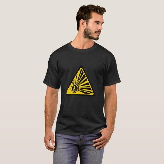 Litecoin Explosion Risk - Men's Basic Dark T-Shirt