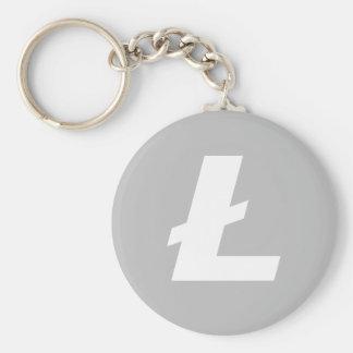 Litecoin LTC Basic Keychain