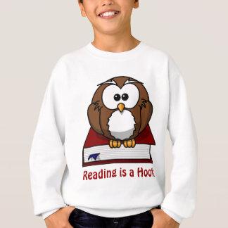 Literacy Awareness: Reading is a Hoot Sweatshirt