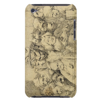 Literary Characters Assembled Around the Medallion Case-Mate iPod Touch Case