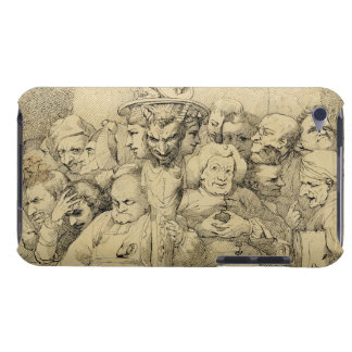 Literary Characters Assembled Around the Medallion iPod Touch Case-Mate Case