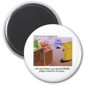 Literary Courtroom Drama Funny Gifts Tees Mugs Etc 6 Cm Round Magnet