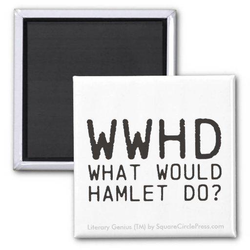 Literary Genius: Hamlet Question Fridge Magnets