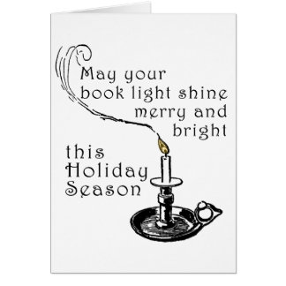 Literary Holiday Card
