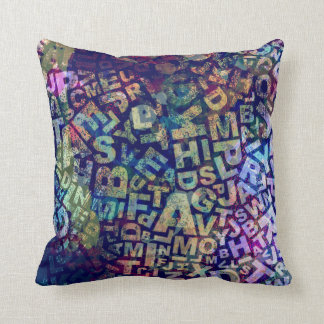 Literary Jumble Cushion