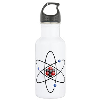 Lithium Atom Chemical Element Li Atomic Number 3 532 Ml Water Bottle