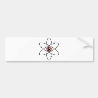 Lithium Atom Chemical Element Li Atomic Number 3 Car Bumper Sticker