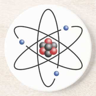 Lithium Atom Chemical Element Li Atomic Number 3 Drink Coasters