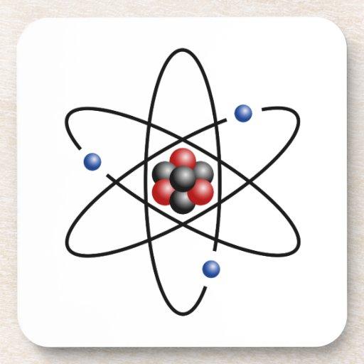 Lithium Atom Chemical Element Li Atomic Number 3 Coaster
