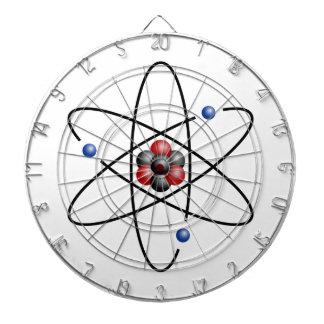Lithium Atom Chemical Element Li Atomic Number 3 Dart Board