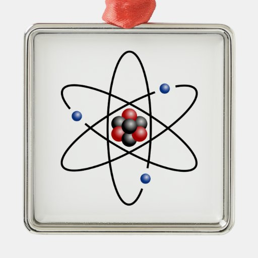 Lithium Atom Chemical Element Li Atomic Number 3 Ornament