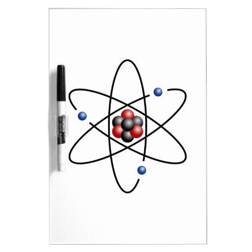 Lithium Atom Chemical Element Li Atomic Number 3 Dry-Erase Whiteboards