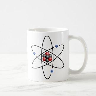 Lithium Atom Chemical Element Li Atomic Number 3 Coffee Mugs