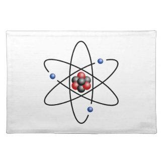 Lithium Atom Chemical Element Li Atomic Number 3 Placemats