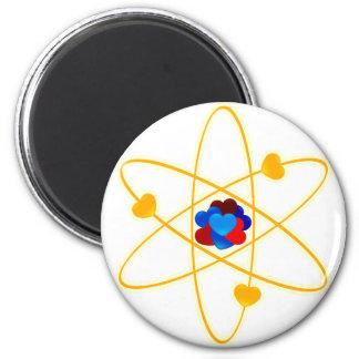 Lithium_Hearts 6 Cm Round Magnet