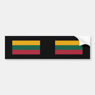Lithuania 1989 2004, Lithuania Bumper Sticker