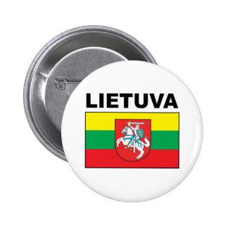 Lithuania 6 Cm Round Badge
