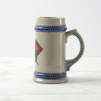 Lithuania and Kauno County Flags Arms Map Coffee Mugs