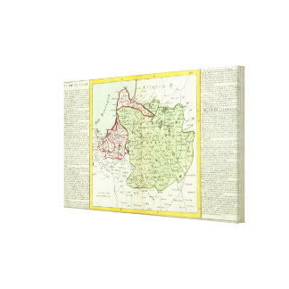 Lithuania, Belarus Canvas Print