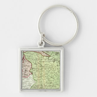 Lithuania, Belarus Key Ring