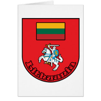 Lithuania Card