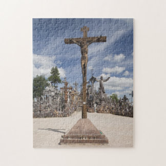 Lithuania, Central Lithuania, Siauliai, Hill 6 Jigsaw Puzzle