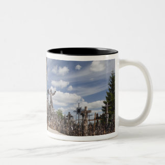 Lithuania, Central Lithuania, Siauliai, Hill 6 Two-Tone Coffee Mug
