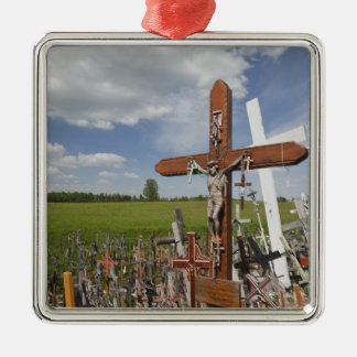 Lithuania, Central Lithuania, Siauliai, Hill Christmas Ornament