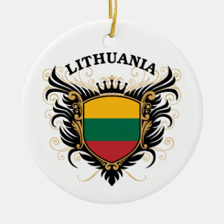 Lithuania Christmas Ornament