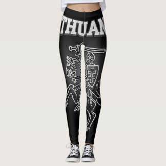 Lithuania Coat of Arms Leggings