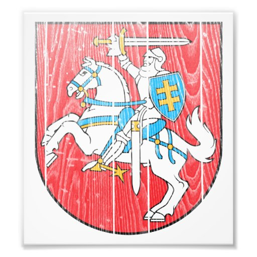 Lithuania Coat Of Arms Photo Print