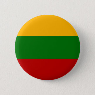 Lithuania Flag 6 Cm Round Badge