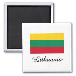 Lithuania Flag Design Magnet