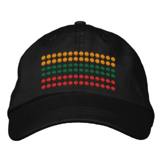 Lithuania Flag Embroidered Hat