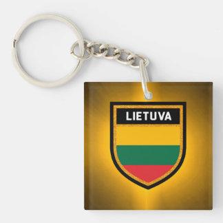 Lithuania Flag Key Ring
