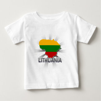 Lithuania Flag Map 2.0 Baby T-Shirt
