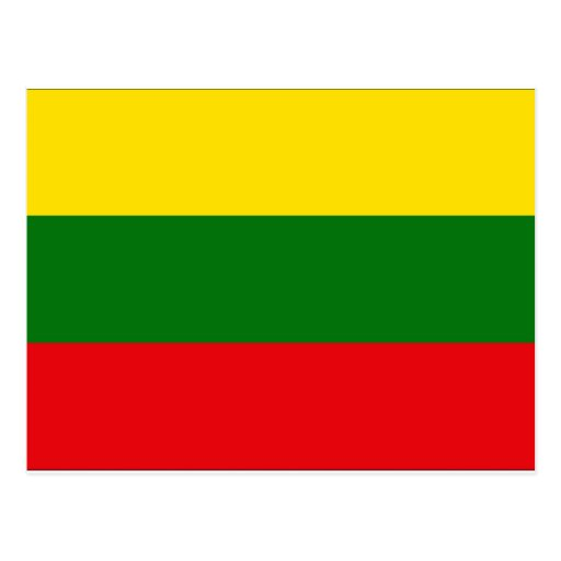Lithuania Flag Post Cards