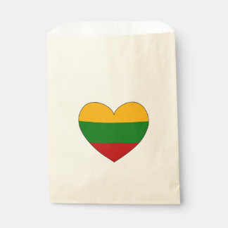 Lithuania Flag Simple Favour Bags