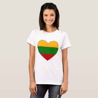 Lithuania Flag Simple T-Shirt