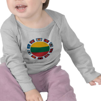 Lithuania Flags T-shirts